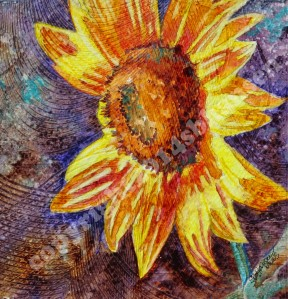 September Sunflower copyright