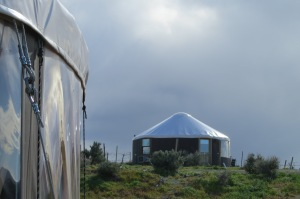 Yurt at Cave B Winery in Washington