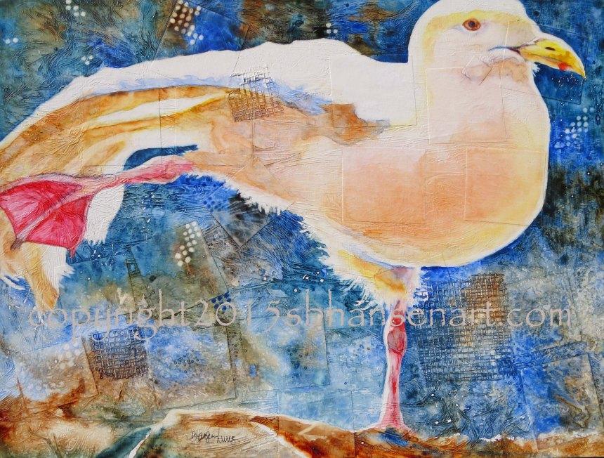 Bird Pose, 16x20