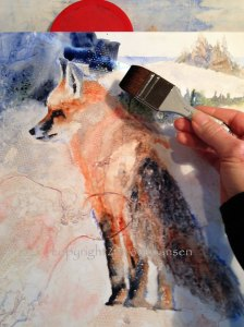 Correcting a BORING painting