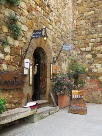 Montepulciano near the entry of the town