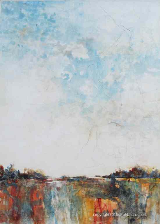 Dreams, 30x22, watercolor and mixed media on Plexiglas