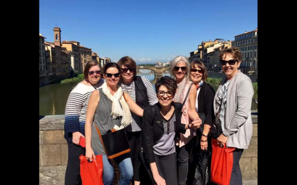 Group Shot Ponte Vecchia Florence
